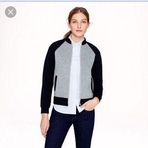 J Crew Colorblock Lightweight Varsity Jacket